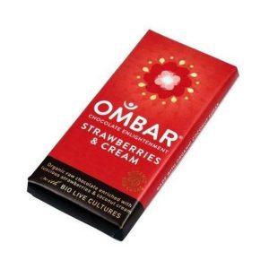 Ombar Organic Strawberry Mylk 35g