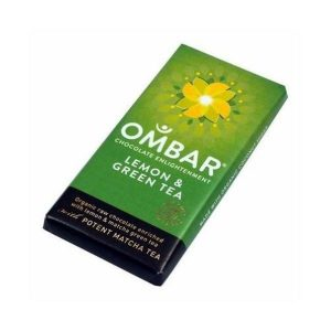 Ombar Organic Lemon & Green Tea 35g