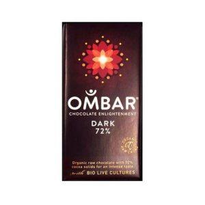 Ombar Organic Dark 72% 35g