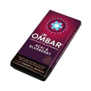 Ombar Organic Blueberry & Acai 35g
