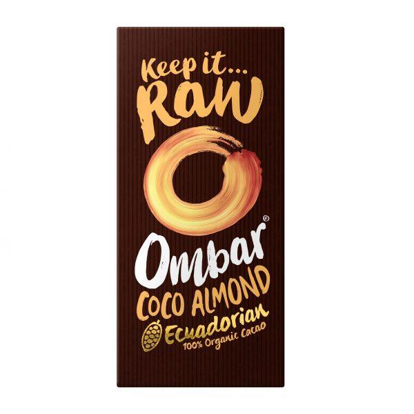 Ombar Organic Coco Almond 70g