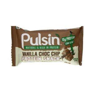 Pulsin Vanilla Choc Chip Protein Snack 50g
