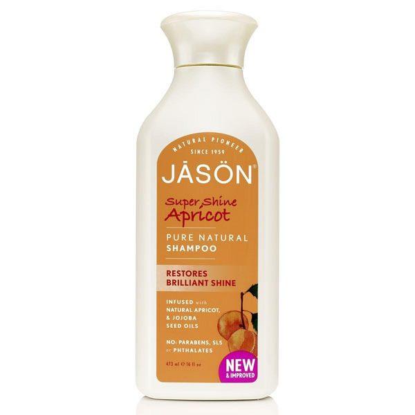 Jason Organic Apricot/Keratin Shampoo 480ml
