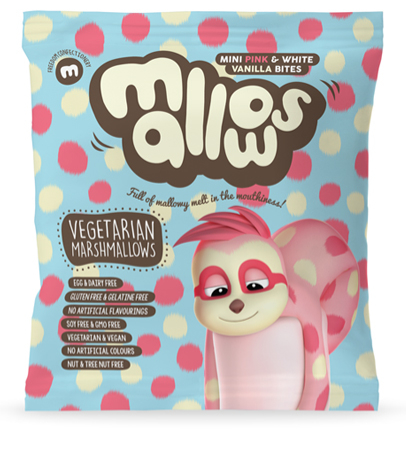 Freedom Pink & White Micro Mini Mallows 75g