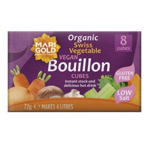 Marigold Organic Low Salt Bouillon Cube