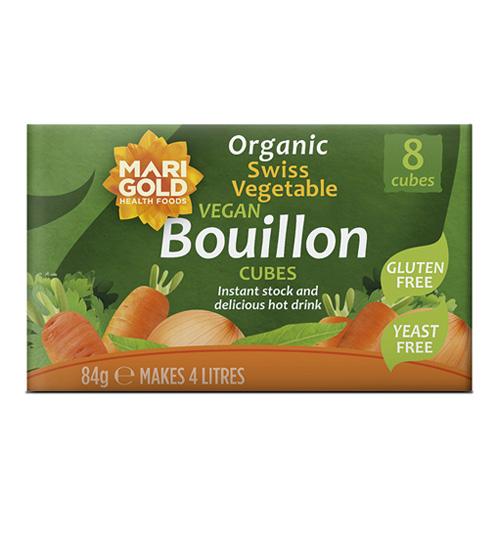 Marigold Organic Yeast Free/Gluten Free Bouillon Cube