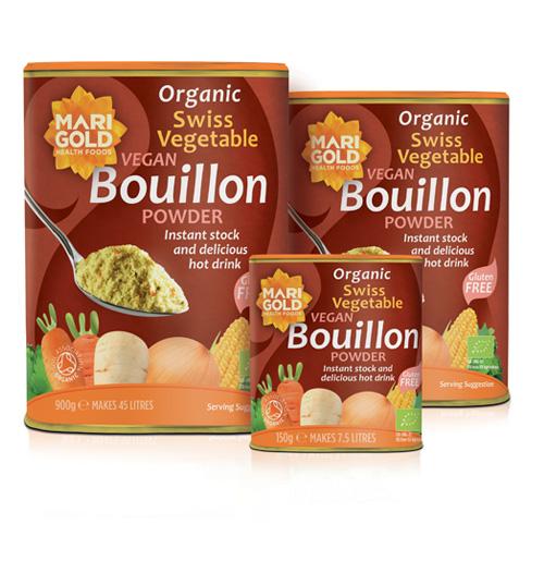 Marigold Organic Swiss Vegetable Bouillon Powder
