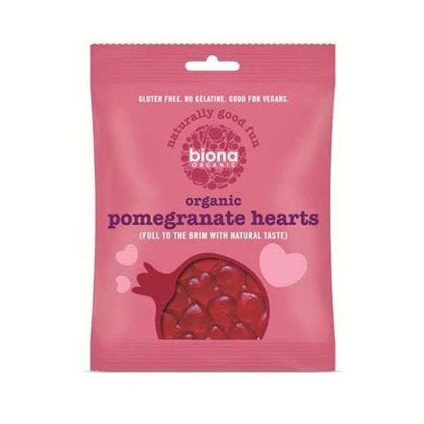 Biona Organic Pomegranate Hearts