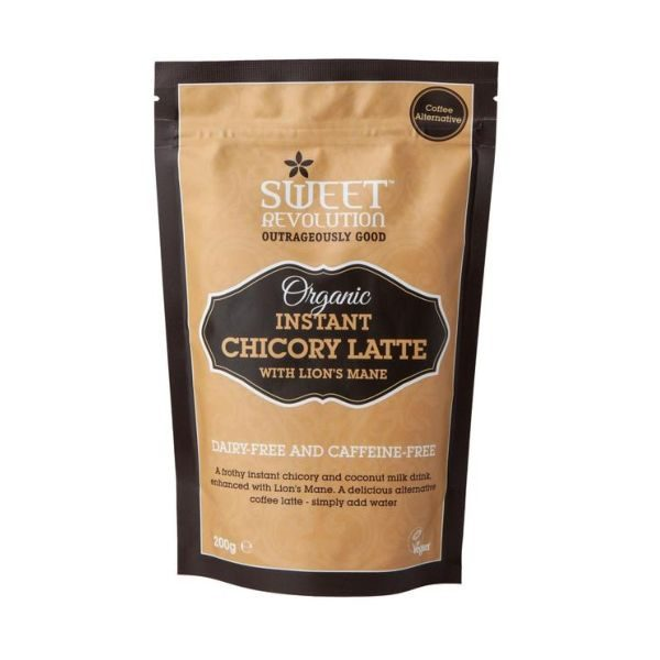 Sweet Revolution Organic Instant Chicory Latte with Lion's Mane