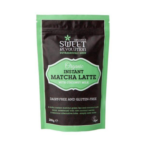Sweet Revolution Organic Instant Matcha Latte with Vanilla