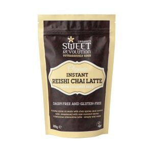Sweet Revolution Organic Instant Reishi Chai Latte with Coconut Milk