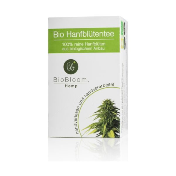 Biobloom Organic Hemp Flower Tea bag