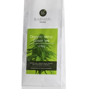 Biobloom Organic hemp flower tea bags