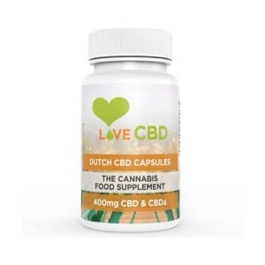 Love CBD Dutch Capsules 400mg - 80 Capsules