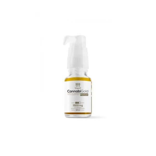 CannabiGold Premium 15% 1500mg - 12ml