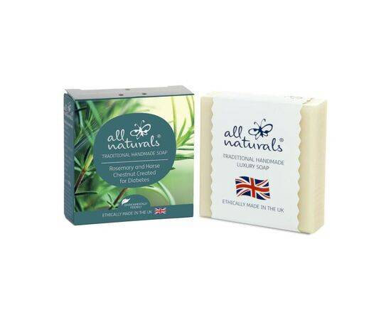 All Naturals Organic Diabetic Soap Rosemary and Horse Chestnut