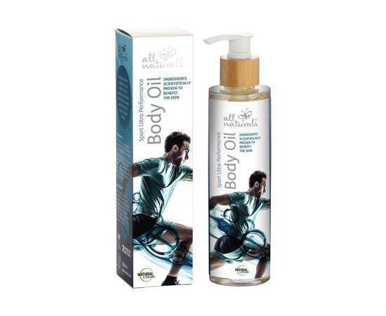 All Naturals - Sport Ultra Performance Organic Muscle Recovery Body Oil