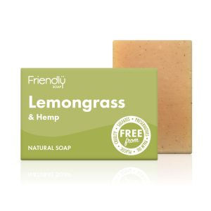 Friendly Soap Lemongrass & Hemp