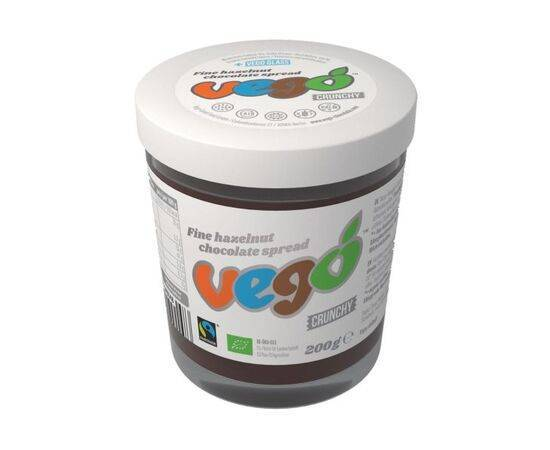 Vego Organic Fine Hazelnut Chocolate Spread