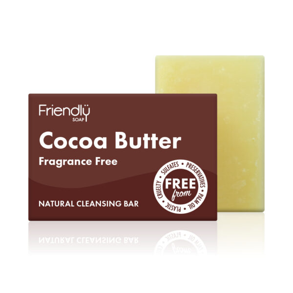 Friendly Soap Cocoa Butter Cleansing Bar