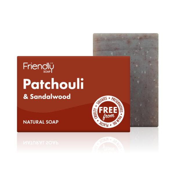 Friendly Soap Patchouli & Sandalwood Soap