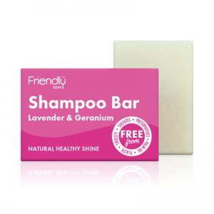Friendly Soap Shampoo Bar Lavender & Geranium
