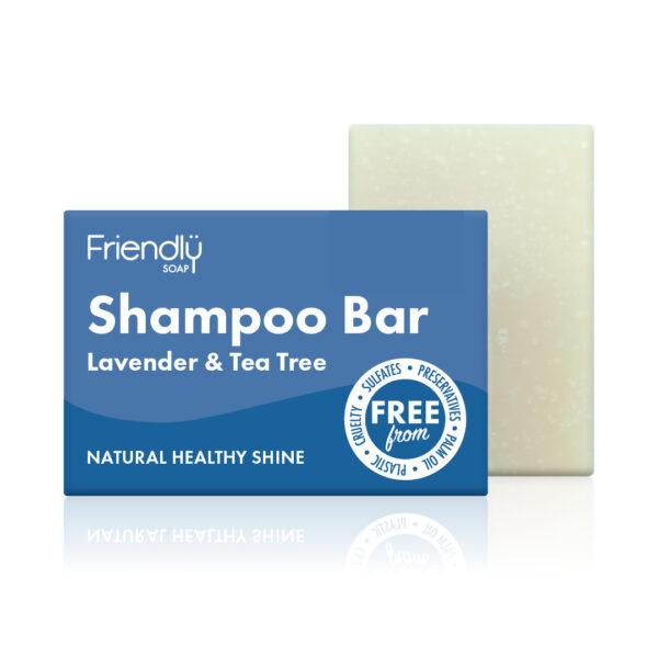 Friendly Soap Shampoo Bar Lavender & Tea Tree